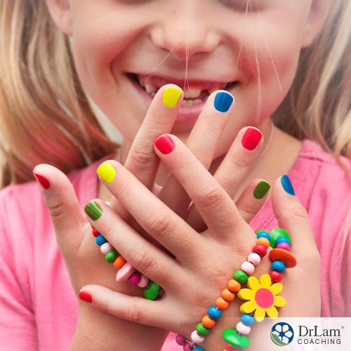 Why You May Want To Think Twice Before Painting Children's Nails