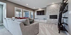 Basement Development - Morrison Homes